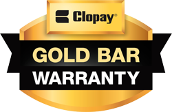 Clopay Gold Bar Warranty only available through Authorized and Master Authorized Dealers.
