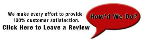 Leave us a review about your experience!