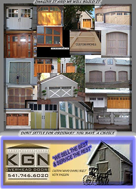 Ask about our custom built wood doors